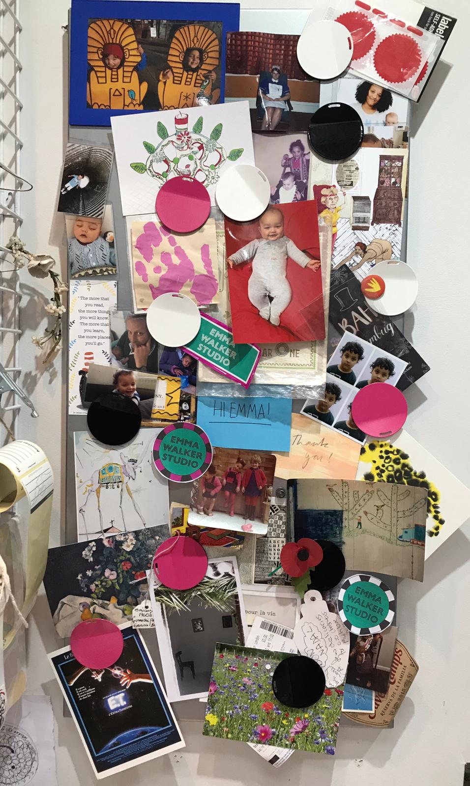 Emma Walker Pin board